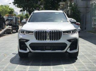 Bán ô tô BMW X7 xDrive 40i Msport SX 2020, màu trắng, nhập khẩu, mới 100%