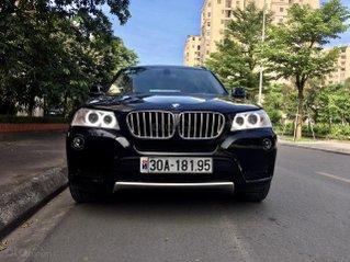 Xe BMW X3 màu đen, sản xuất 2011