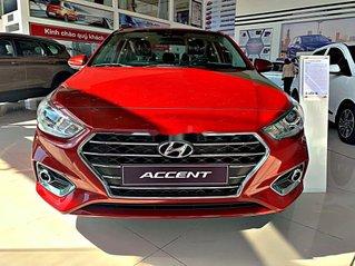 Bán ô tô Hyundai Accent năm sản xuất 2020, màu đỏ, giá tốt, giao xe nhanh