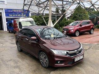 Bán xe Honda City năm sản xuất 2017, màu đỏ còn mới giá cạnh tranh