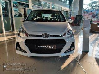 Hyundai Grand i10 1.2 MT 2020, xe gia đình, giá giảm sâu, tháng ngâu nhiều quà tặng