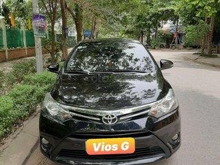 Bán xe Toyota Vios G đời 2014, màu đen chính chủ, giá chỉ 400 triệu đồng
