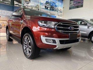 Bán ô tô Ford Everest đời 2020, màu đỏ, xe nhập, số sàn