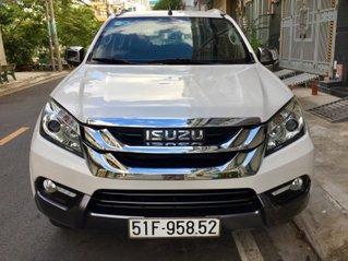 Bán xe Isuzu mu-X 2016, màu trắng, nhập khẩu Thái Lan, giá chỉ 615 triệu