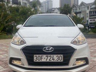 Xe Hyundai Grand i10 sản xuất 2019, màu trắng còn mới, giá 405tr