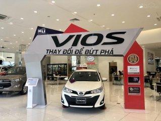 Toyota Vios số sàn 2020 giảm 50% thuế trước bạ - tặng bảo hiểm thân xe. Chỉ cần có trước 100 triệu nhận xe ngay