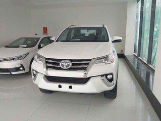 Bán xe Toyota Fortuner 2.7V 4x2 AT năm sản xuất 2020, màu trắng, nhập khẩu