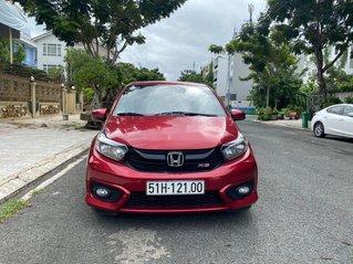 Cần bán Honda Brio 1.2 AT năm sản xuất 2019, màu đỏ, nhập khẩu nguyên chiếc số tự động