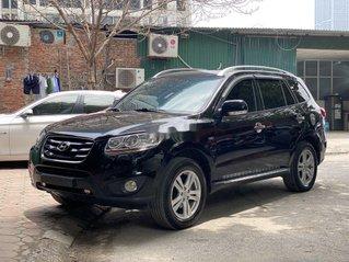 Cần bán lại xe Hyundai Santa Fe năm 2009, màu đen, nhập khẩu còn mới