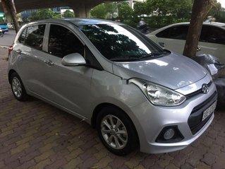 Cần bán xe Hyundai Grand i10 đời 2016, màu bạc, nhập khẩu nguyên chiếc