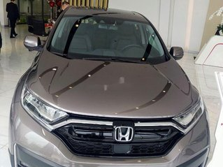 Bán xe Honda CR V đời 2020, màu nâu