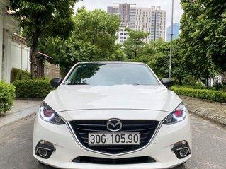 Bán ô tô Mazda 3 sản xuất 2016, màu trắng, dáng Hatchback