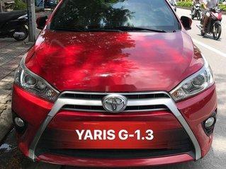 Bán ô tô Toyota Yaris 2016, màu đỏ, nhập khẩu