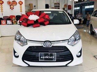 Bán Toyota Wigo đời 2020, màu trắng, nhập khẩu