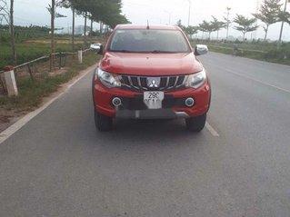 Bán Mitsubishi Triton 2017, màu đỏ, nhập khẩu