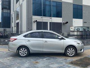 Chính chủ bán Toyota Vios 1.5E 2015 màu bạc 4 phanh ABS