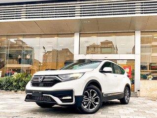 Bán Honda CR V sản xuất năm 2020, màu trắng, giao xe nhanh