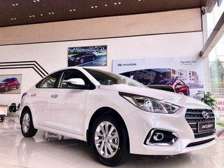 Bán ô tô Hyundai Accent sản xuất 2020, màu trắng, giao xe nhanh