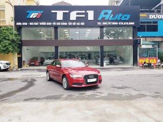 Bán Audi A6 3.0L sản xuất 2014, đăng ký 2015, màu đỏ