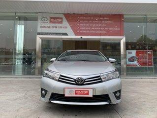 Cần bán xe Toyota Corolla Altis 1.8G CVT 2015 màu bạc đi 69.000km, BS. TpHCM - Xe chất giá tốt chính hãng
