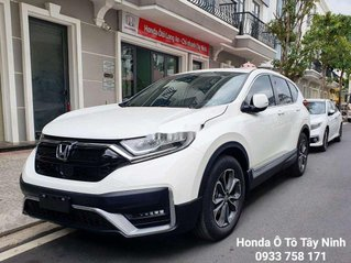 Bán Honda CR V 2020, màu trắng