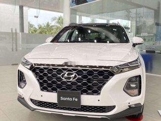 Bán Hyundai Santa Fe đời 2020, màu trắng
