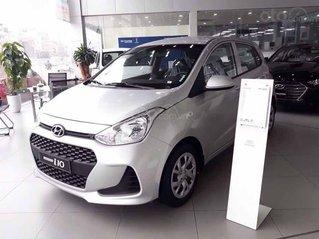 Bán Hyundai Grand i10 sản xuất năm 2019, màu bạc, 334tr