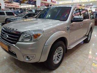 Bán Ford Everest 2.5L 4x2 MT năm sản xuất 2009, màu bạc, chính chủ