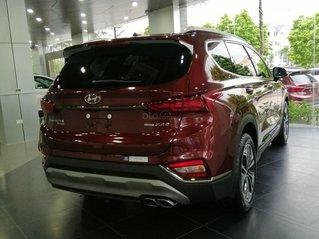 Bán Hyundai Santa Fe số tự động bản dầu cao cấp, sẵn xe, sẵn màu giao ngay, giá tốt nhất miền Bắc