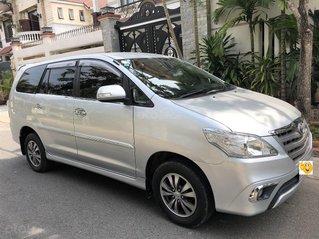Toyota Innova cuối 2014 E zin số sàn xe gia đình