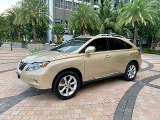 Chính chủ cần bán xe Lexus RX 350 nhập khẩu, đời 2010, màu vàng kem tại TP HCM siêu mới giá tốt