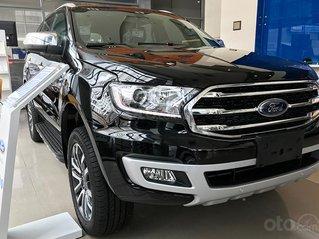 Bán ô tô Ford Everest Titanium sản xuất năm 2020, màu đen