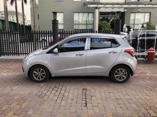 Cần bán xe Hyundai Grand i10 đời 2014, màu bạc còn mới, giá chỉ 225 triệu đồng