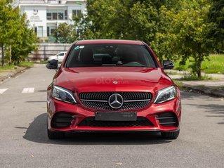 Bán Mercedes C300 AMG 2020, xe đẹp đi lướt 8.000miles, bao check hãng