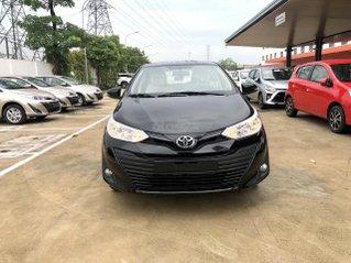 Bán Toyota Vios 1.5E số sàn màu đen - xe giao ngay- khuyến mãi khủng ngay lễ 2/9