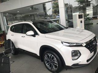 [Hyundai Santa Fe 2.4 xăng cao cấp] giảm 50% thuế trước bạ + khuyến mãi khủng sẵn xe giao ngay