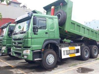 Bán xe tải Ben 3 chân Howo máy 380Hp thùng đúc tại Quảng Ninh và Hải Phòng - Giá rẻ - Giao xe ngay
