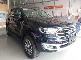 Ford Everest 2020 Trend, nhập khẩu nguyên chiếc từ Thái Lan, trả trước từ 350 triệu nhận xe, nhiều quà tặng hấp dẫn