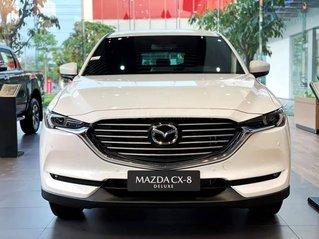 Mazda CX8 2020 xe 7 chỗ tiện nghi an toàn giá tốt, khuyến mại nhiều, hỗ trợ trả góp lãi suất tốt thủ tục nhanh gọn