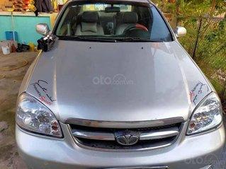 Bán Daewoo Lacetti năm sản xuất 2007, màu bạc
