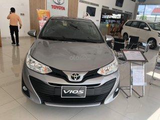 Toyota Vios 1.5 số sàn - mua trả góp với 119 triệu - khuyến mãi ngay tiền mặt, hỗ trợ trước bạ xe