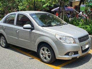 Chevrolet Aveo sx cuối 2014, màu ghi, số sàn