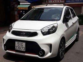 Bán Kia Morning Si 1.25 AT năm sản xuất 2016, màu trắng xe gia đình, giá 305tr