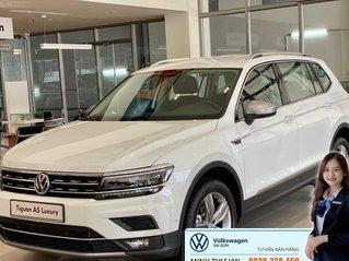 Volkswagen Tiguan Luxury màu trắng 7 chỗ nhập khẩu - Khuyến mãi lên đến hơn 70% trước bạ - Ms Thư