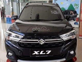 Suzuki XL7 giảm ngay tiền mặt, 140tr nhận xe - tặng BHVC hoặc ghế da - đủ màu giao ngay - trả góp đến 85% lãi ưu đãi
