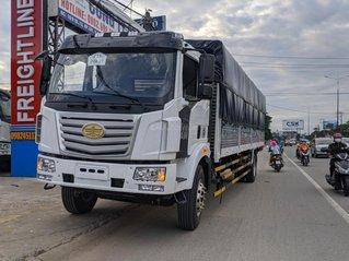 Bán xe tải Faw 8 tấn, thùng dài 9m7, giá rẻ Bình Dương, trả trước từ 300 tirệu nhận xe, lãi suất tốt
