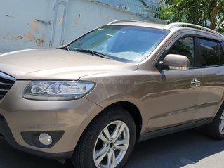 Bán Hyundai Santa Fe máy dầu EVGT 2.0, số tự động, đời cuối 2011, màu nâu tuyệt đẹp, mới 80%