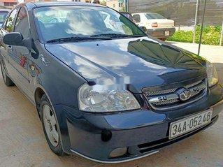 Xe Daewoo Lacetti sản xuất 2009, màu xanh lam còn mới