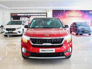 Kia Seltos 2020 màu đỏ, Seltos Premium 719 triệu - đưa trước 205 triệu nhận xe + phụ kiện chính hãng