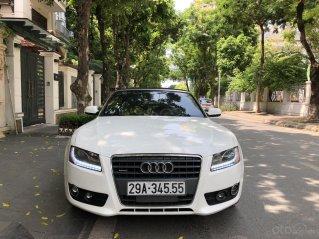 Bán Audi A5 2.0 mui trần, màu trắng, đăng ký năm 2011